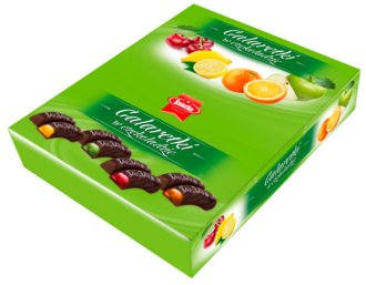 Fruit jellies in chocolate 1kg