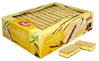 Waffers with lemon filling 1,5kg, 800g
