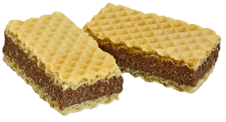 Waffers with cocoa filling 1,5kg