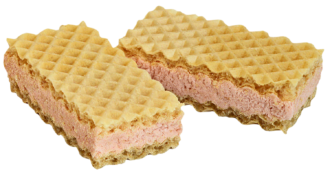 Waffers with raspberry filling 1,5kg