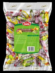Fruit jellies in chocolate 1kg