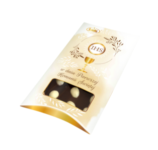 Chocolate with almonds 200g
